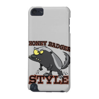 HONEY BADGER STYLE iPod TOUCH 5G COVER