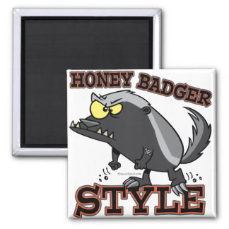 HONEY BADGER STYLE MAGNET