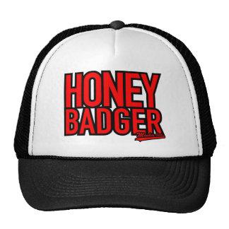Honey Badger Text Only Cap