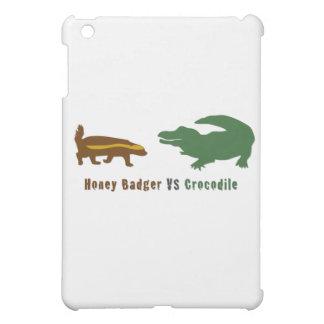 Honey Badger VS Crocodile iPad Mini Cover