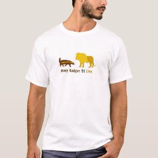 honey badger vs lion T-Shirt