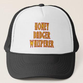 Honey Badger Whisperer Trucker Hat