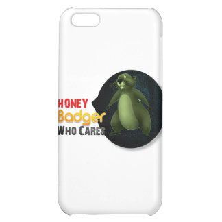 Honey Badger Who cares? iPhone 5C Cases