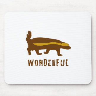 Honey Badger Wonderful Mouse Pads