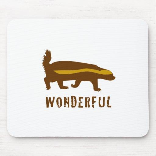 Honey Badger Wonderful Mouse Pads
