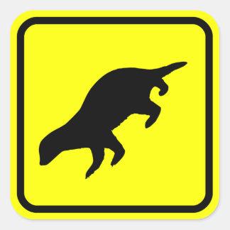 Honey Badger XING Sticker