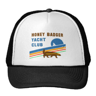 honey badger yacht club cap