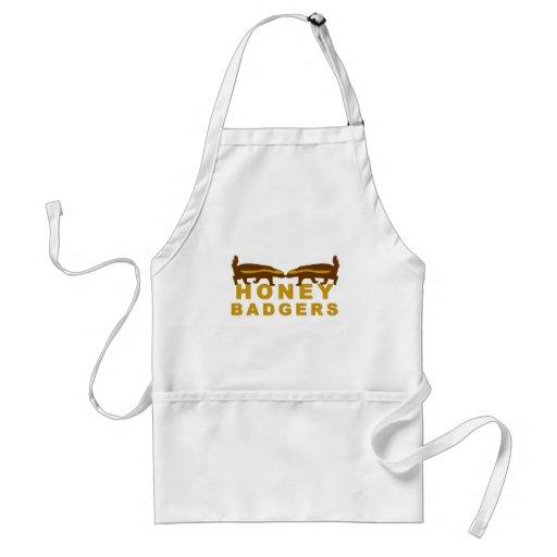 honey badgers apron