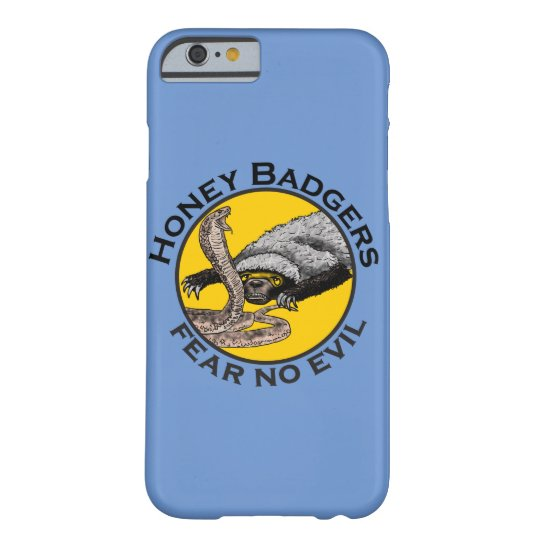 Honey Badgers 'fear no evil' Barely There iPhone