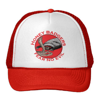 Honey Badgers 'fear no evil' Cap