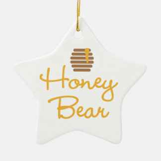 Honey Bear Christmas Ornament