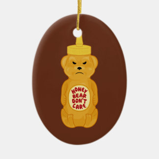 Honey Bear Christmas Ornament