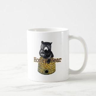 honey bear coffee mug