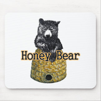 honey bear mouse pad