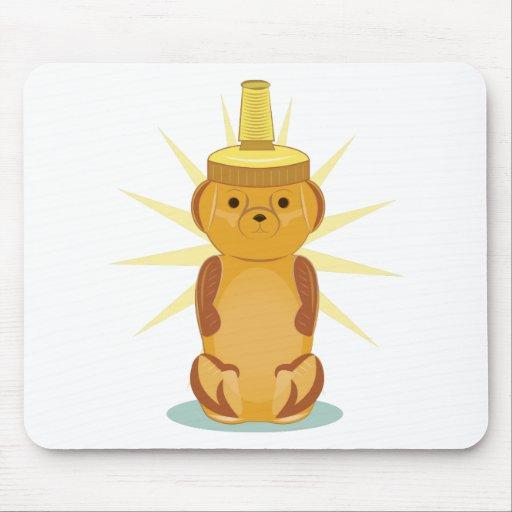 Honey Bear Mouse Pads