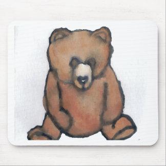 Honey Bear Thinking - CricketDiane Designer Stuff Mouse Pad