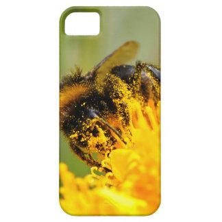 Honey bee and pollen iPhone 5 cases