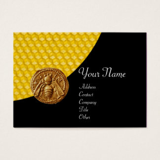 HONEY BEE ,BEEKEEPER APIARIST BUSINESS CARD