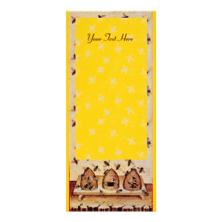 HONEY BEE ,BEEKEEPER APIARIST FULL COLOR RACK CARD