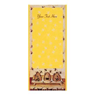HONEY BEE ,BEEKEEPER APIARIST PERSONALISED RACK CARD