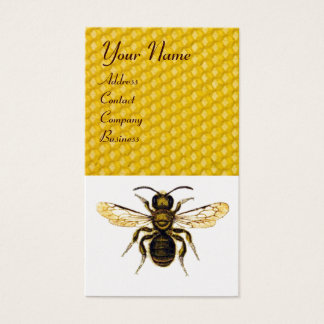 HONEY BEE  ,BEEKEEPER /beekeeping supplies Business Card