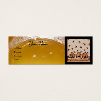 HONEY BEE ,BEEKEEPING,BEEKEEPER APIARIST MINI BUSINESS CARD