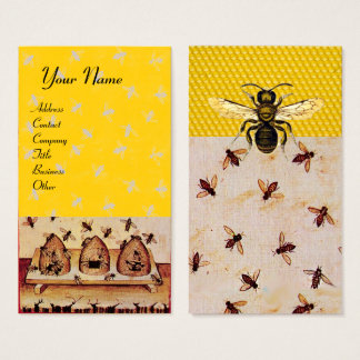 HONEY BEE ,BEEKEEPING,BEEKEEPER BUSINESS CARD