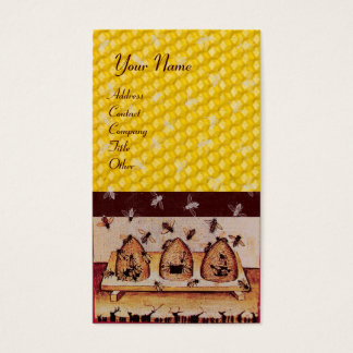 HONEY BEE ,BEEKEEPING, BEEKEPER BUSINESS CARD