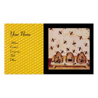 HONEY BEE ,BEEKEEPING BUSINESS CARD TEMPLATE