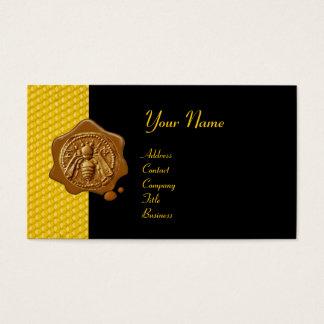 HONEY BEE BROWN WAX SEAL / Cupid the Honey Thief