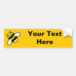honey bee bumper sticker