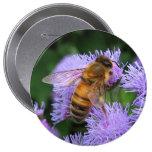 Honey Bee Button Pins