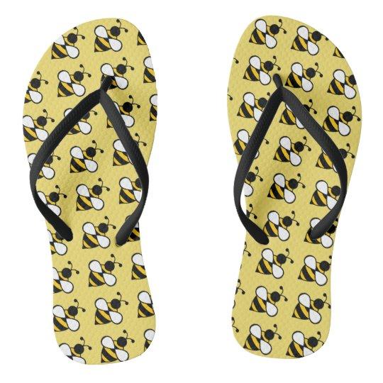 Honey Bee Cruise Summer Flip Flops Sandals Gift
