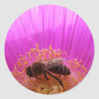 Honey Bee Flower Stickers
