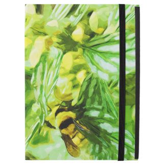 "Honey Bee Gathering Pollen in Abstract iPad Pro 12.9"" Case"
