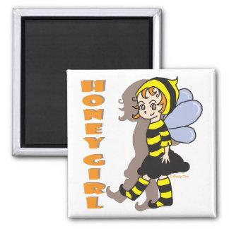 Honey Bee Girl Magnet