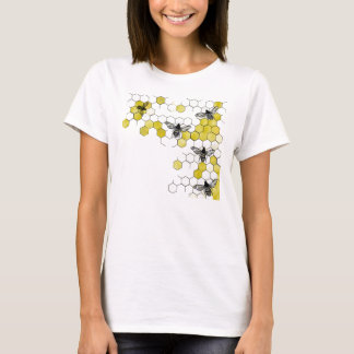Honey Bee Honeycomb Shirt