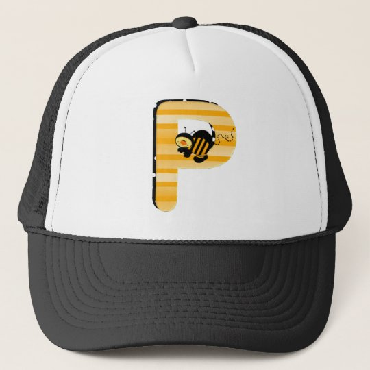 Honey Bee Initial P Cap