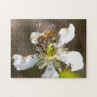 Honey bee jigsaw puzzle