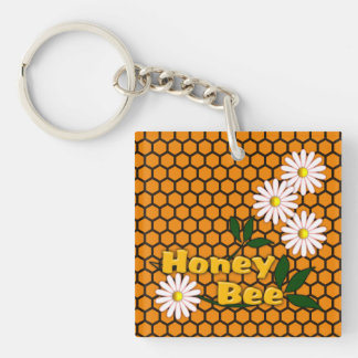 Honey Bee keychain