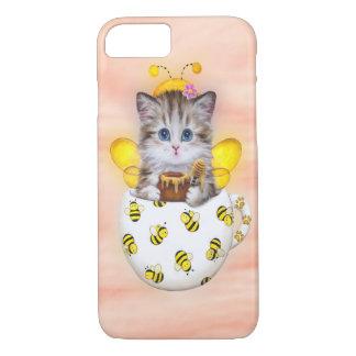 Honey Bee Kitty iPhone 7 Case