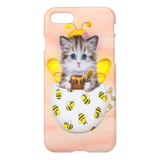 Honey Bee Kitty iPhone 7 Case