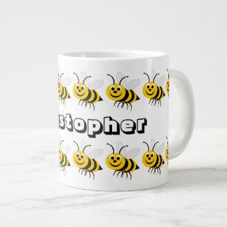 Honey Bee Large Mug Just Add Name Jumbo Mug
