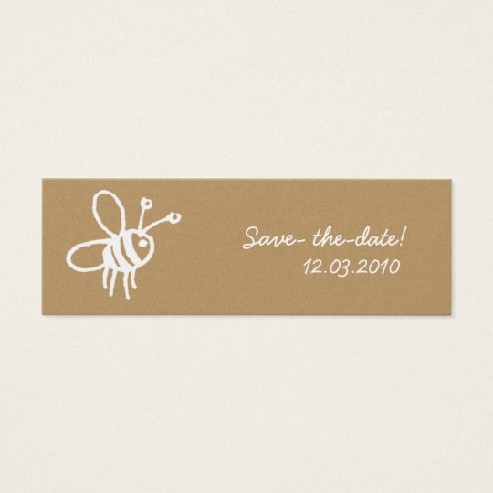Honey Bee Mini Business Card