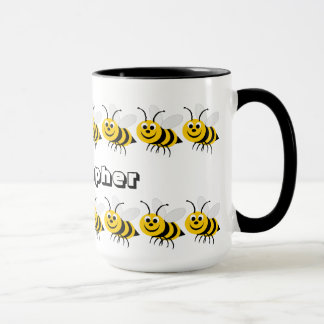 Honey Bee Mug Just Add Name