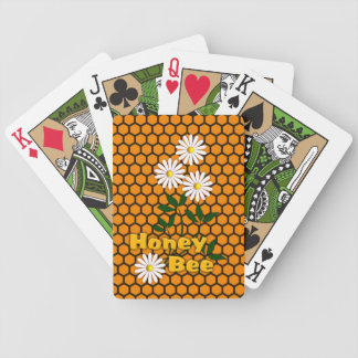 Honey Bee playing cards. Bicycle Playing Cards