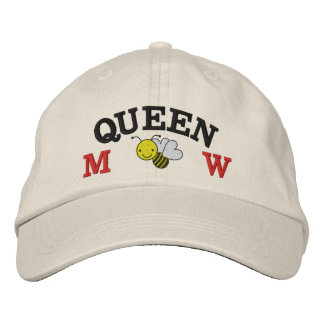Honey Bee - Queen Bee - Save the Bee Embroidered Hats