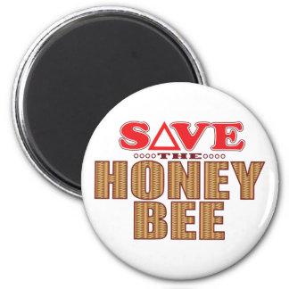 Honey Bee Save Magnet