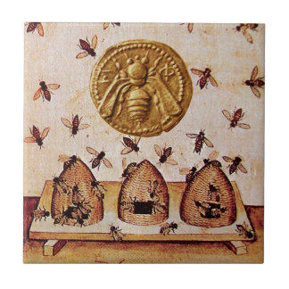 HONEY BEE SMALL SQUARE TILE