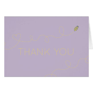 Honey Bee Thank You note Card